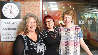 Fiona Landon, Linda Jaivin, Monica Dux (John Standish - ABC Local)
